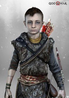 Nuevos artes de God of War con Kratos y su hijo