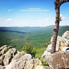 Hike in George Washington National Forest, Virginia