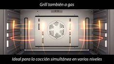 Cocina a Gas Modelo MX96 Vitrokitchen