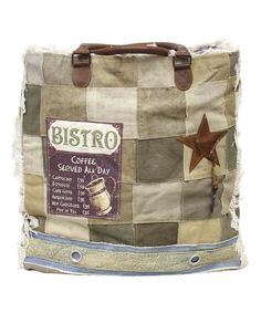 This Tan & Blue Bistro Tote by Vintage Addiction is perfect! Recycled Fabric, Boutique, Girly Things, Girly Stuff, Laptop Bag, Women's Accessories, Vintage Inspired, Diaper Bag, Reusable Tote Bags
