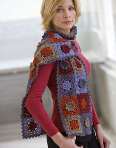 Ravelry: Inca Alpaca and Inca Marl Crochet Scarf pattern by Kristen TenDyke