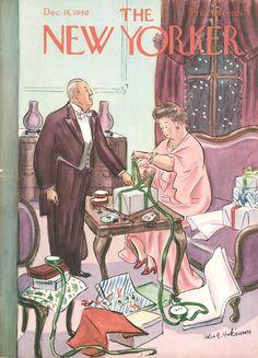 """December 14, 1940,"" by Helen E. Hokinson."