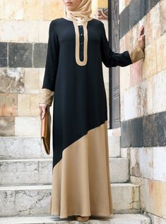 Like a Dream Abaya - Fall Collection - Women Abaya Fashion, Muslim Fashion, Women's Fashion Dresses, Abaya Mode, Curvy Women Fashion, Womens Fashion, Hijab Stile, Plus Zise, Women's Fashion Leggings