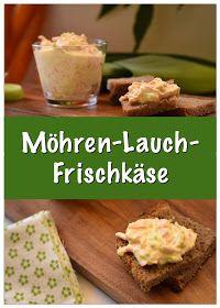 Das Rezept für Möhren-Lauch-Frischkäse ist simpel aber sehr lecker. Er schmeckt nicht nur hervorragend auf frischem Brot