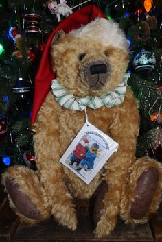 Santa Bear by The Mad Hatted Bear