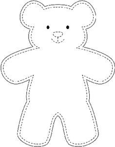 Sample Teddy Bear Template - wikiHow