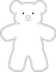 Sample Teddy Bear Template - wikiHow