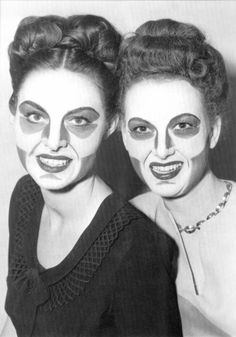Early contouring in the 1940's in Hollywood by the one and only Max Factor