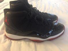new product 4a6fa 68381 Pre Owned Nike Air Jordan 11 Eleven Retro Black Varsity Red White Size 13 ·  Nike Air Jordan 11Athletic ShoesSneakers ...