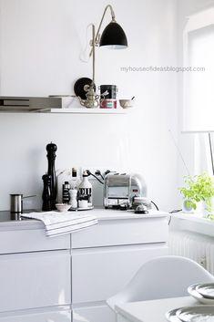 HOUSE of IDEAS white kitchen