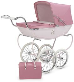 Silver Cross Pram. The Rolls Royce of prams. My mam would love me to have one like this, so would I!