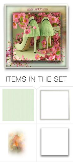"""Love spring!!!"" by lenadecor ❤ liked on Polyvore featuring art"