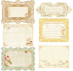 Songbird NoteCards- click on the image- save as!