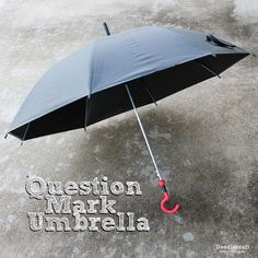 Picture of Doctor Who Sylvester McCoy Question Mark Umbrella