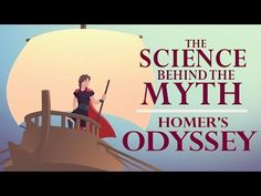 "Homer's ""Odyssey"" recounts the adventures of the Greek hero Odysseus during his journey home from the Trojan War. Though some parts may be based on World Literature, Classic Literature, Homer Odyssey, Greek History, Ancient History, Art History, 6th Grade Social Studies, Trojan War, Ted"