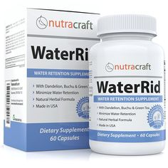 Natural Diuretic Water Pill with Dandelion and Potassium to Lose Water Weight and Bloating Relief - Premium Herbal Water Retention Supplement - 60 Capsules - Made in USA -- Trust me, this is great! Click the image. : Weight loss Diuretics