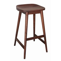 Mosey up to the bar and sit a spell on this Santro stool.