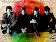 S. J. Paul McCartney♥♥Richard L. Starkey♥♥John W. O. Lennon♥♥George H. Harrison