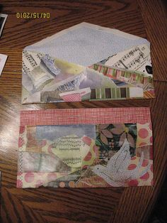 Mail art envie by occasiongb, via Flickr