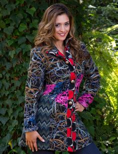 Buy Art Studio Luxury Coat only for $89.00 at Sacred Threads Boutique. ✓Over 20 Years in Fashion ✓ Free shipping.