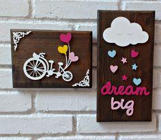 Rustic Frames Kit - Dream Big