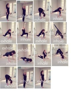 Understanding Yoga Sequences - How It All Fits Together Yoga Flow Sequence, Yoga Sequences, Yoga Poses, Yoga Sun Salutation, Yoga For You, Gym Body, Namaste Yoga, Body Weight Training, Yoga For Flexibility