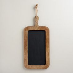 One of my favorite discoveries at WorldMarket.com: Cutting Board Chalkboard