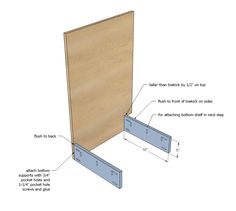21 ideas and plans for DIY kitchen cabinets that are easy and cheap to build – White N Black Kitchen Cabinets Build Kitchen Island, Building Kitchen Cabinets, Kitchen Base Cabinets, Kitchen Cabinet Drawers, Cabinet Plans, Built In Cabinets, Diy Cabinets, Kitchen Units, Cupboards