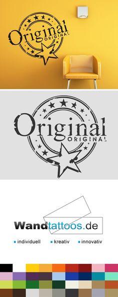 Wandtattoo Button Original als Idee zur individuellen Wandgestaltung. Einfach Lieblingsfarbe und Größe auswählen. Weitere kreative Anregungen von Wandtattoos.de hier entdecken!