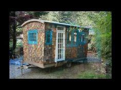 Hornby Island Caravans- The Sandpiper model. This is such a quaint little place!