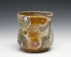 Anagama fired cup by Fred Herbst Head of the ceramics department at Corning Community College.