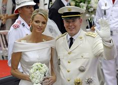 Prince Albert and Charlene Wittstock Get Married