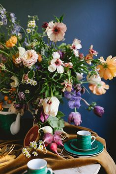 how to arrange your spring flowers like a dutch masterpiece   floral tutorial on coco kelley