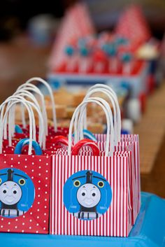 Find and Dandy: Toot Toot He's Two. Thomas themed party. #train #party