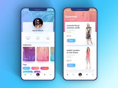 Fashion Show Design Layout For 2019 Ios App Design, Mobile App Design, Mobile Application Design, Android Design, Mobile App Ui, Interface Web, Interface Design, Android App, Profile App