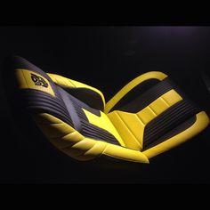 camaro seat custom yellow and black transformer design