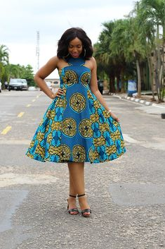 The most beautiful collection of Trendy Ankara Short Gown Styles, these ankara short gown styles have been trending for a long while you have to see them African Dresses For Women, African Print Dresses, African Fashion Dresses, African Attire, African Wear, African Women, African Prints, African Style, Ankara Fashion
