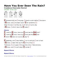 Have You Ever Seen The Rain? (Creedence Clearwater Revival) - http://myuke.ca