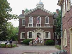 Carpenters' Hall - Philadelphia's Architectural Tradition - 17th and 18th Century Architecture