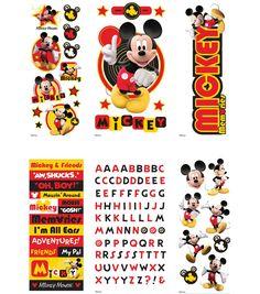 Disney\'s Mickey Mouse Value Sticker Set (6 Sheets) | Jo-Ann