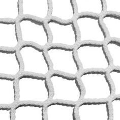 Suspended house net: 50 mm, braided, white netting