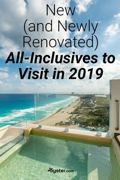 We compiled a collection of new and newly renovated all-inclusive resorts, from Cancun to the Canary Islands. So when you start plotting your 2019 escape, consult this list first. All Inclusive Urlaub, Cancun Vacation, Best All Inclusive Resorts, Cancun Resorts, Mexico Resorts, Vacation Spots, Best Family Resorts, Vacation Packages, Vacation Places