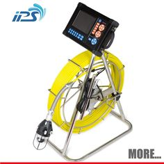 Vedenalainen putkien viemäri kamera avulla äänite