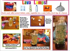 Lava Lamp Science Fair Project Endearing Lava Lamp Experiment  Science Fair Board  Made  It's A Theme Decorating Inspiration