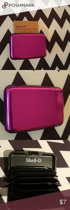 RFID blocking credit card holder RFID blocking credit card holder Bags Wallets