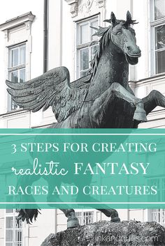 3 Steps for Creating Realistic Fantasy Races and Creatures | Learn how to #write realistic #fantasy races and cultures, plus a FREE worksheet!