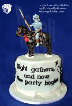 Game of Thrones White Walker Cake for Merl & Justine | The Regali Kitchen