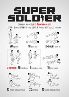 Super Soldier Workout