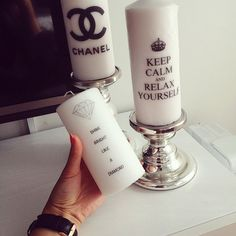 Such cute candles. I would never burn them lol