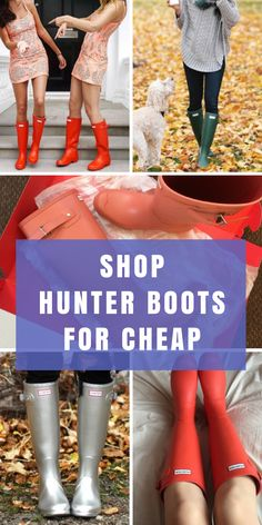 Shop the best deals on brand new or pre-loved Hunter boots when you install the FREE Poshmark app. Find Hunter, Tory Burch, Sperry, and hundreds more at up to 70% off retail prices! Tap to download to get started today!